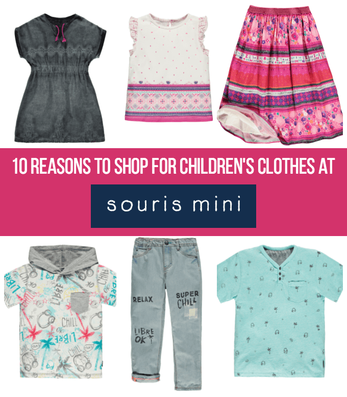 10 Reasons to Shop for Children's Clothes at Souris Mini - Souris Mini offers bright, bold and fashionable children's clothing for ages 0 to 10. Check out these 10 reasons why you'll love shopping there!