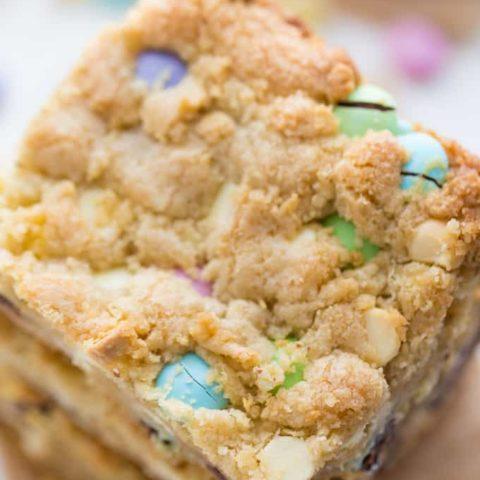 Spring Cookie Bars