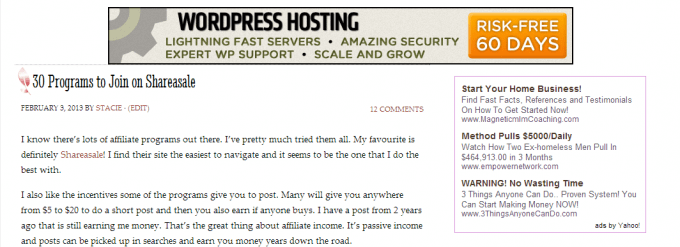 How to Place Ads on Your WordPress Blog - It's easier than you think!