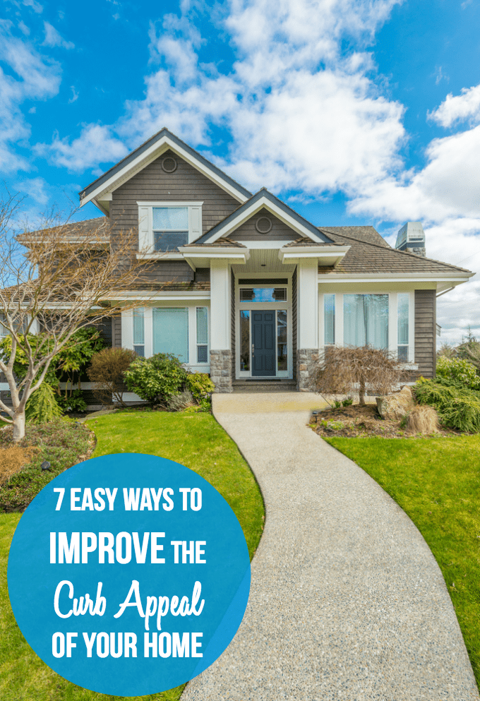 7 Easy Ways to Improve the Curb Appeal of Your Home - Ready to spruce up your home's exterior? Try these budget-friendly tips and make a big difference in how it looks!