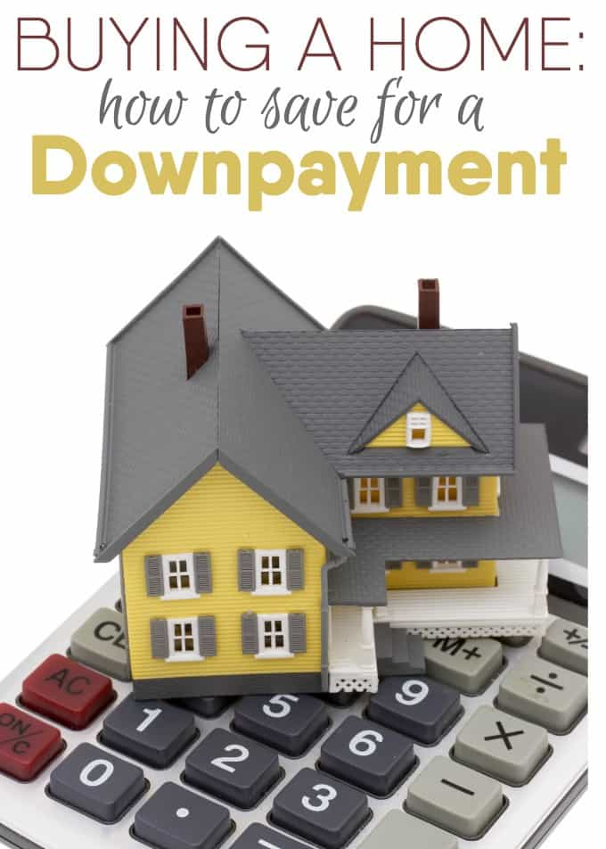 How to Save for a Down Payment - Buying a home is a huge investment. Try one or a couple of these tips to find the money to buy the home of your dreams!