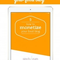 How to Monetize Your Food Blog E-Book Review