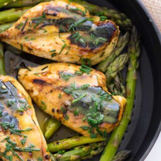 Grilled Honey Dijon Chicken