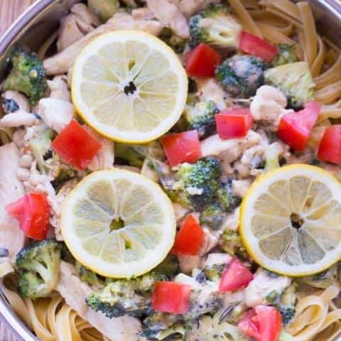 Lemon & Herb Chicken Fettuccine
