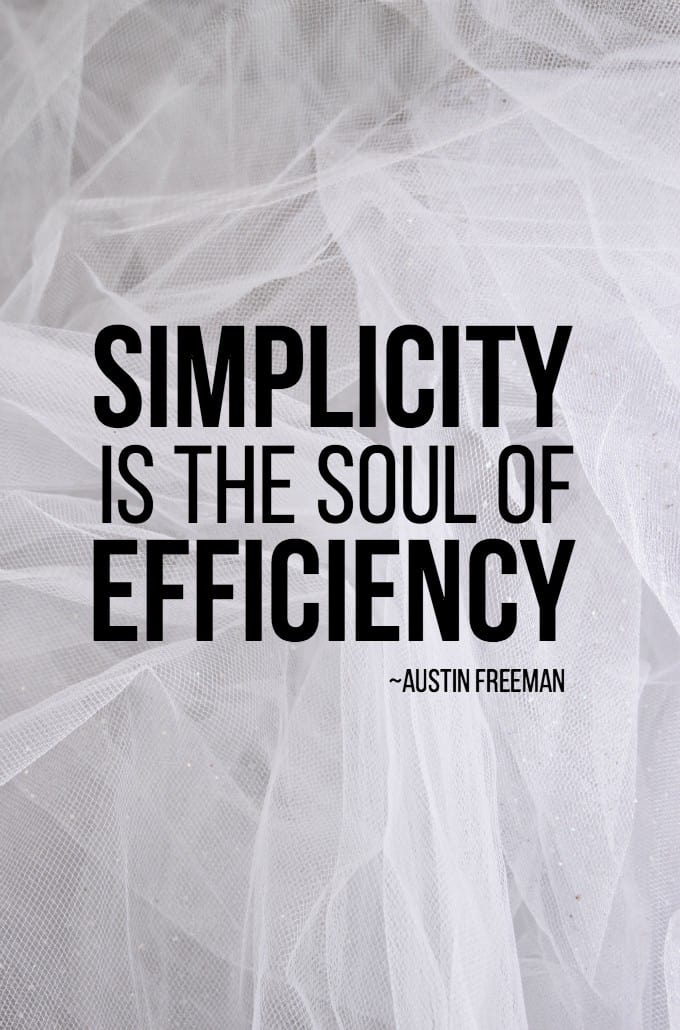 Choosing Voluntary Simplicity - Love these quotes! #IntuitionSimplicityCurveContest
