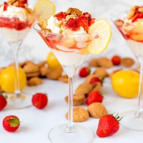 Strawberry Lemon Fool