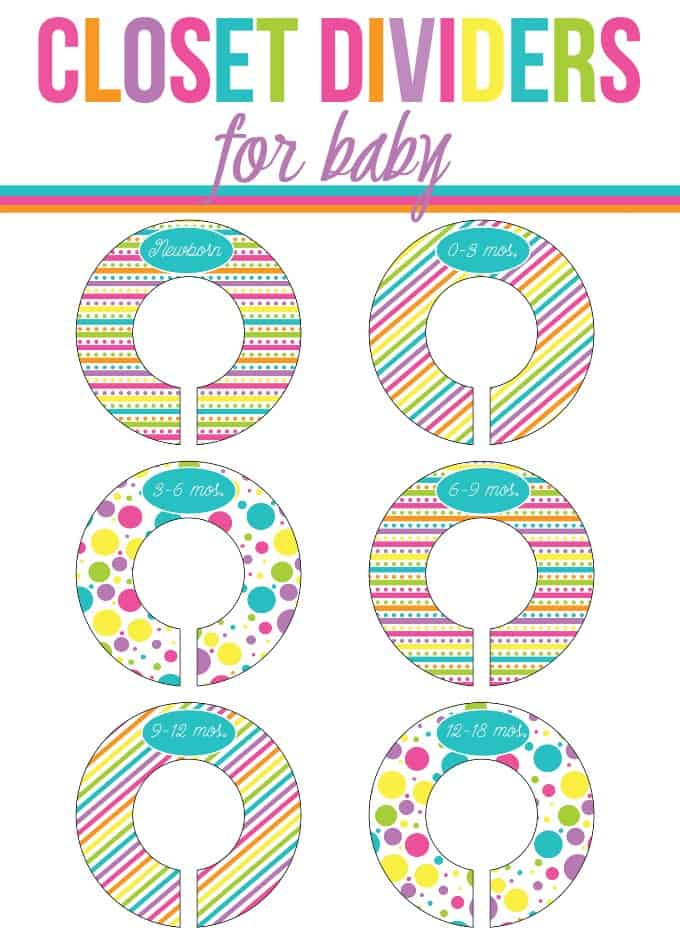 graphic relating to Printable Closet Dividers identify Closet Dividers for Little one - Very easily Stacie