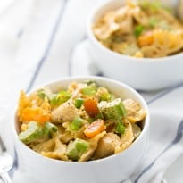 Creamy Curried Chicken Pasta Salad