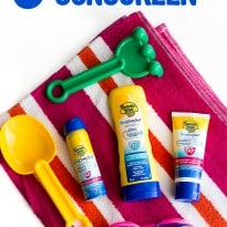 5 Mom Hacks To Get Your Kids to Wear Sunscreen