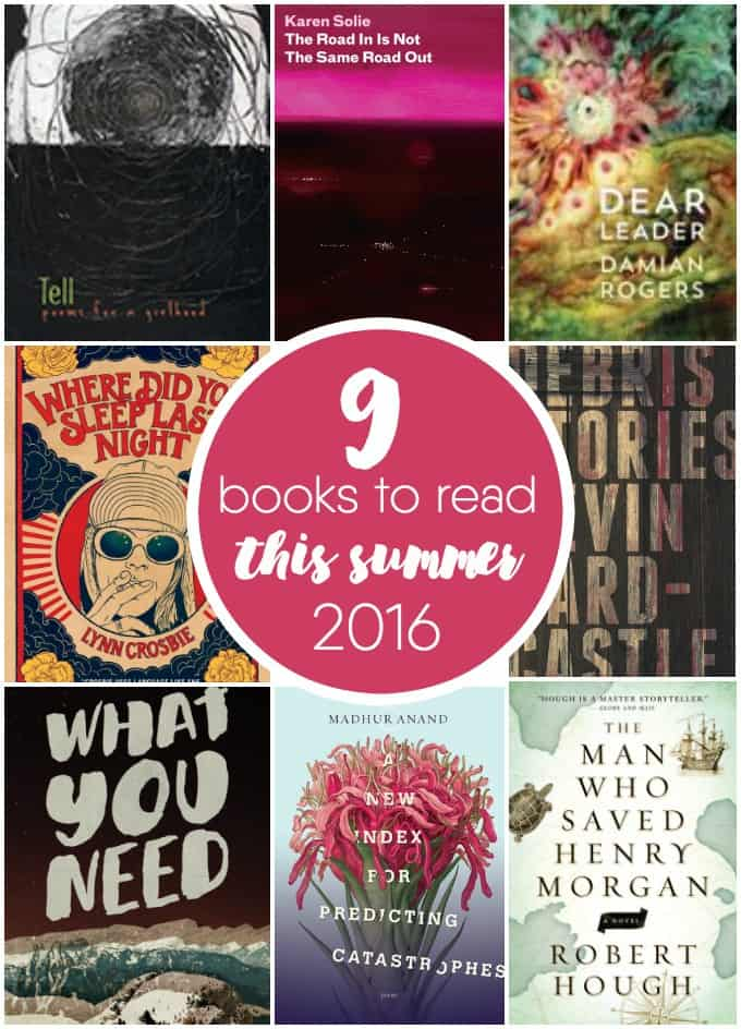 9 Books to Read This Summer - Choose your next beach read from these Trillium Book Award nominees.