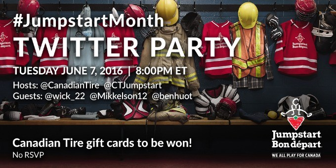 Join the #JumpstartMonth Twitter Party on June 7