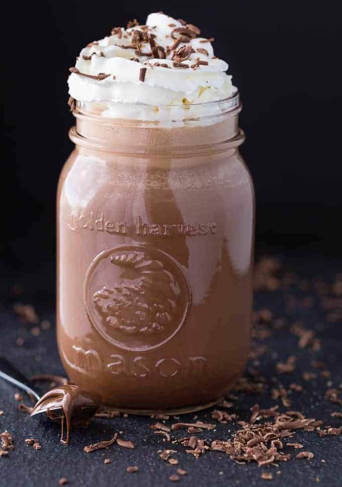 Nutella Coffee Milkshake