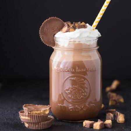 Reese's Coffee Milkshake