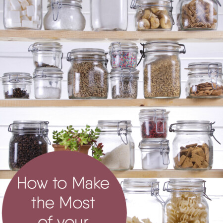 How to Make the Most of Your Small Pantry