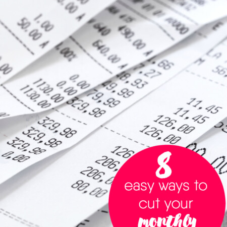 8 Easy Ways to Cut Your Monthly Expenses