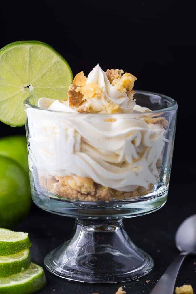 Lime Cheesecake Parfait - This simple, no-bake dessert is the perfect summer indulgence!