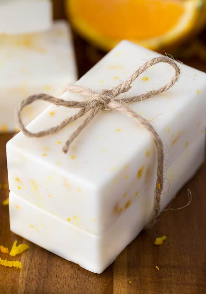 Orange Creamsicle Soap - Smells like a dream! I can't get enough of the vanilla + orange scent combo.