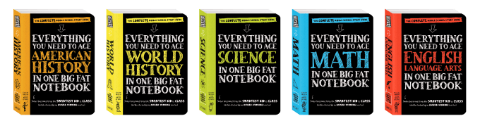 Start the school year on the right foot with Big Fat Notebooks. They are a revolutionary study guide series for middle school students.