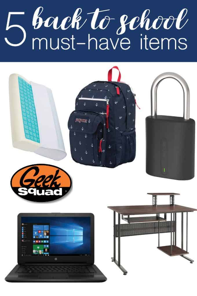 5 Back to School Must-Have Items - my top picks to ensure a smooth transition!