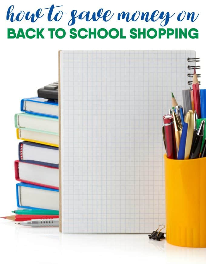 How to Save Money on Back to School Shopping - This time of year is stressful enough so why add any financial stress?