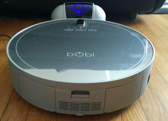 Meet our newest family member, bObi Pet by bObsweep. She sweeps, vacuums, disinfects, mops and filters the floors in my home.