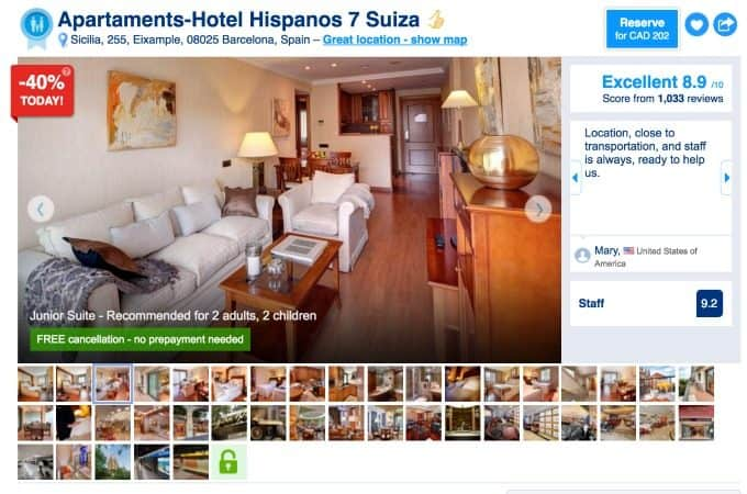 My One-in-a-Million Property Picks on Booking.com #BookingYeah #million