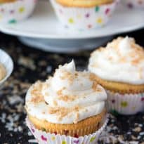 Coconut Cream Pie Cupcakes