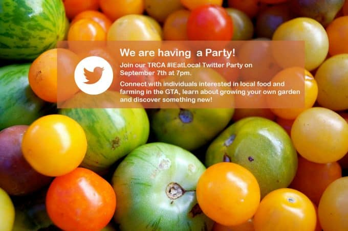 i eat local twitter party