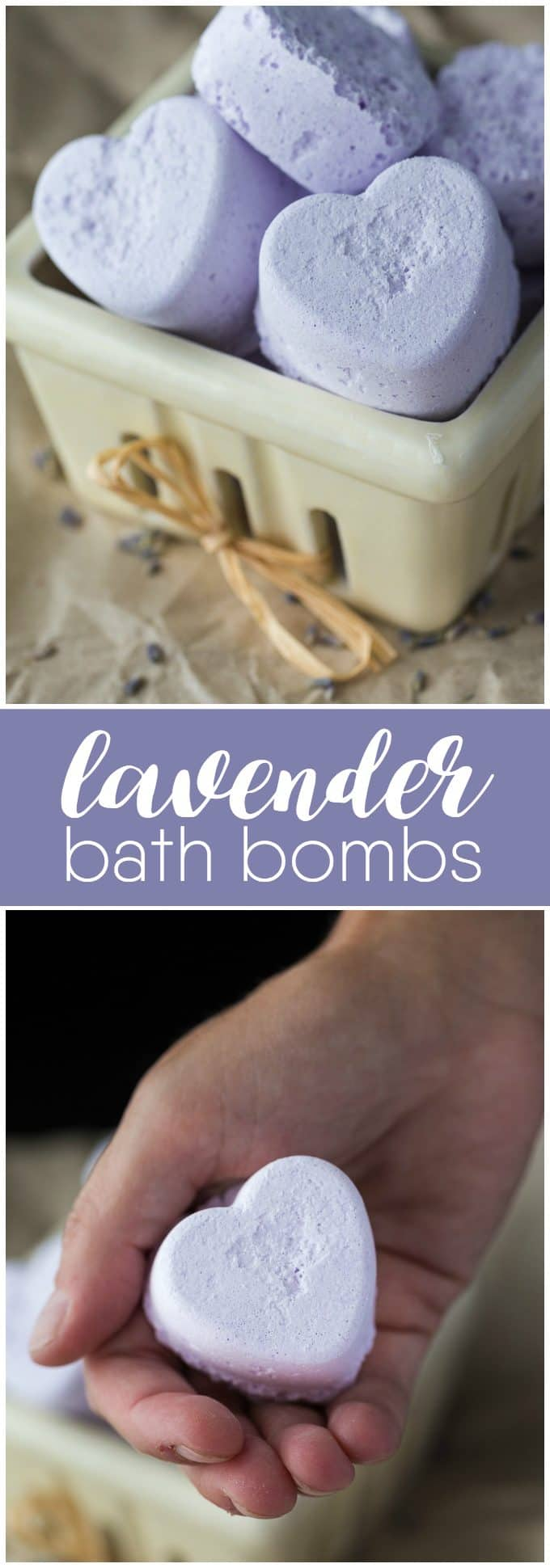 Lavender Bath Bombs - You'll be surprised at how easy it is to make your own bath bombs. Keep them, sell them or gift them!