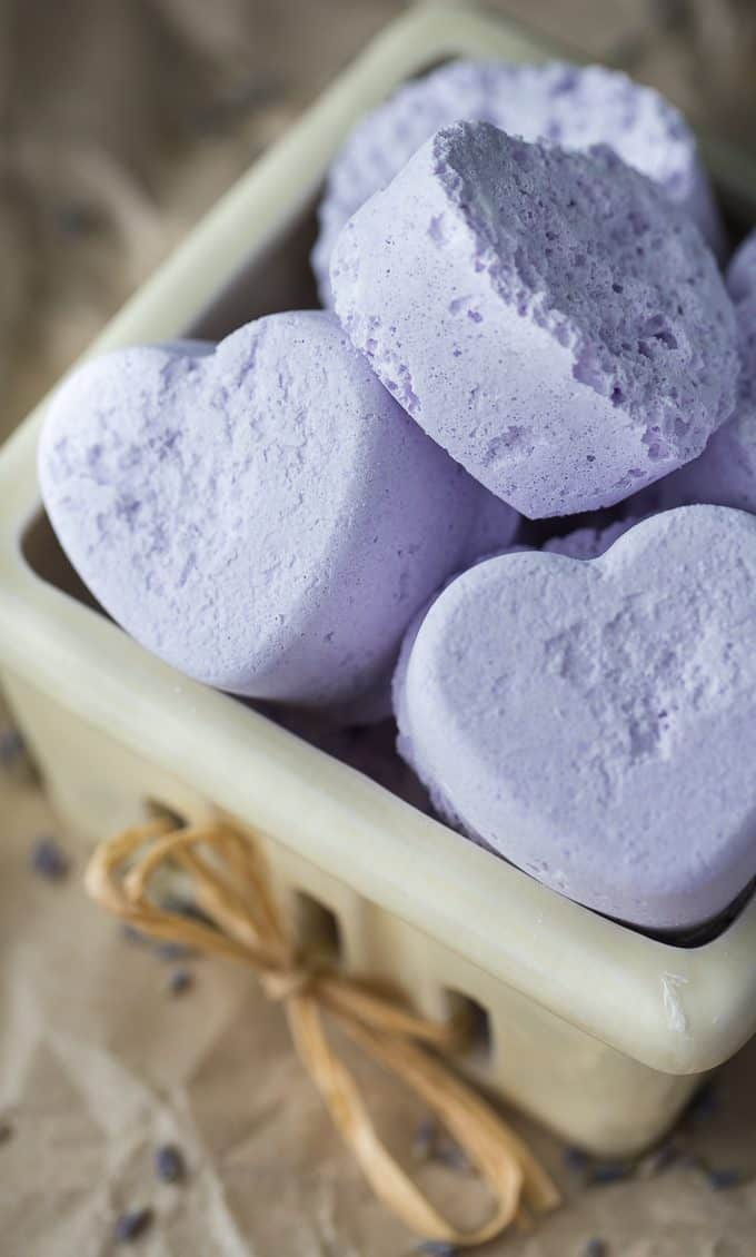 Lavender Bath Bombs Simply Stacie