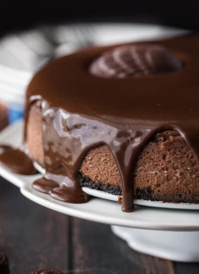 St. Lucian Chocolate Cheesecake
