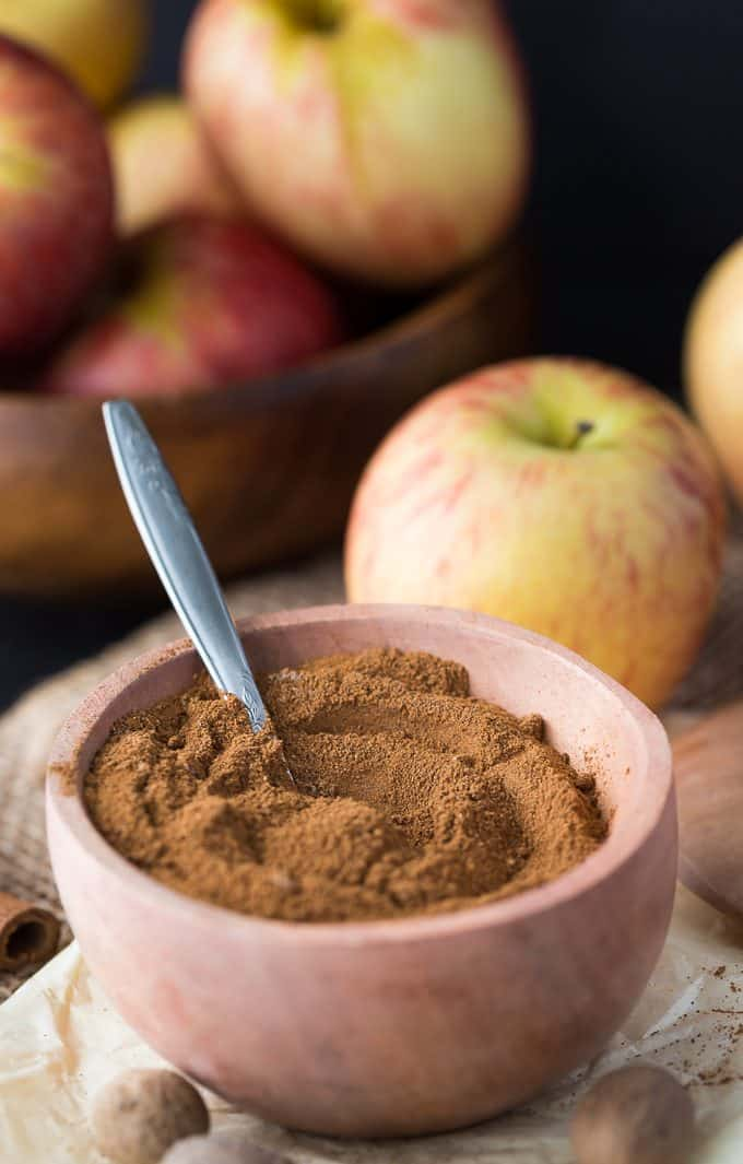 Apple Pie Spice - A fragrant blend of fall spices! It smells heavenly and adds a wonderful flavour to your fall desserts.