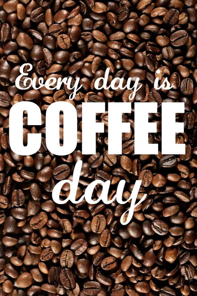 Happy National Coffee Day! Let's celebrate Canada's favourite beverage with a few fun facts and tips. Every day is coffee day in my world. How about you?