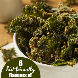 6 Kid-Friendly Flavours of Kale Chips