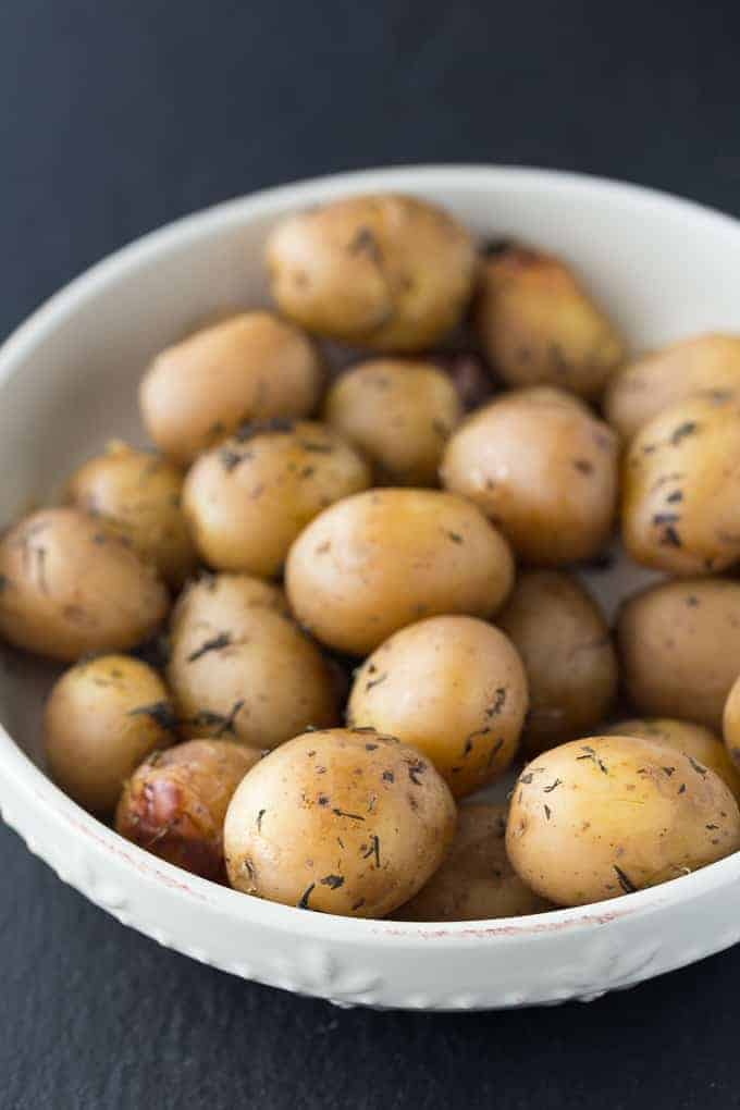 Savoury Slow Cooker Potatoes