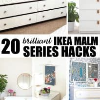 20 Brilliant IKEA Malm Series Hacks