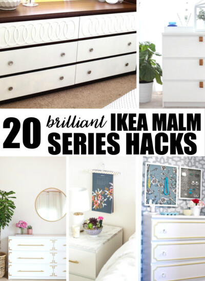 20 Brilliant IKEA Malm Series Hacks
