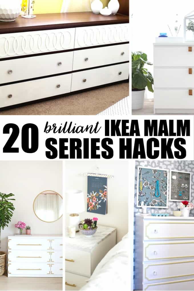 20 brilliant ikea malm series hacks simply stacie. Black Bedroom Furniture Sets. Home Design Ideas