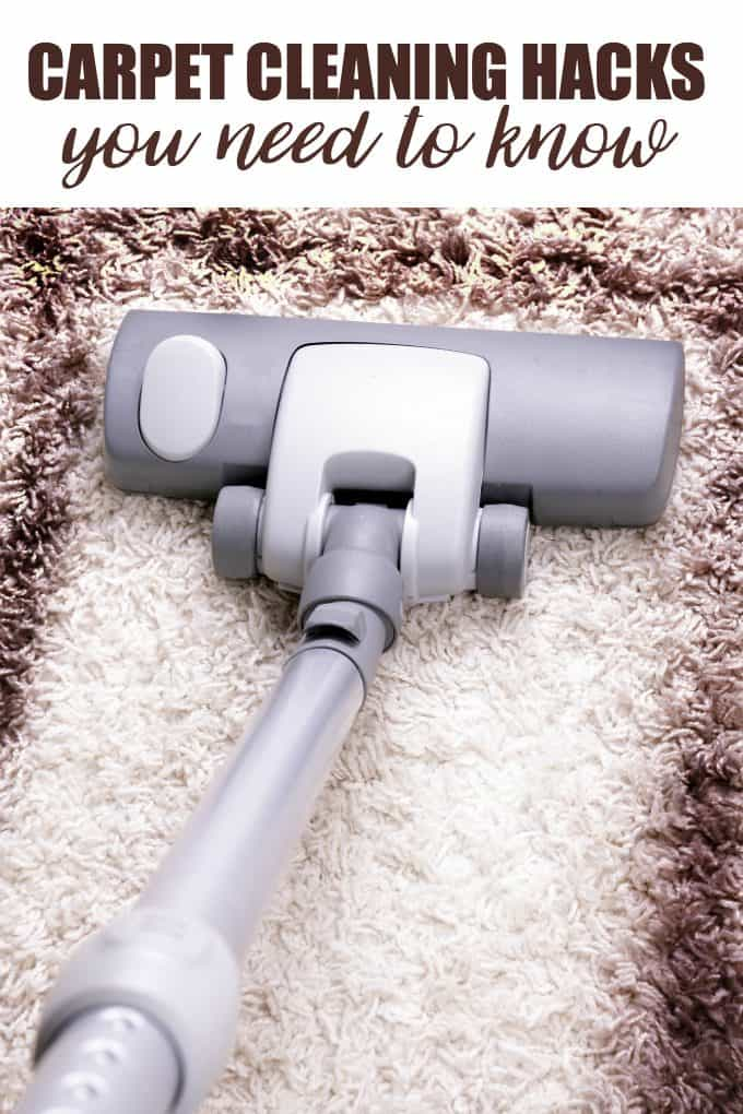 Carpet Cleaning Hacks You Need to Know - Learn how to tackle different kinds of stains and keep your carpet fresh.