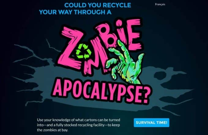Recycling My Way Through a Zombie Apocalypse
