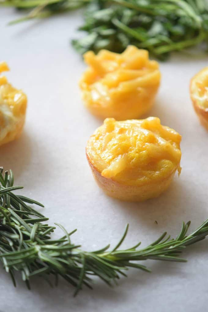 Mac and Cheese Cups - A little bite of comfort food! Try this family fave in a new and tasty way.