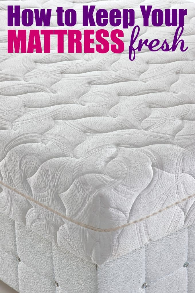 How to Keep Your Mattress Fresh - Tips & tricks to keeping it clean and well maintained.