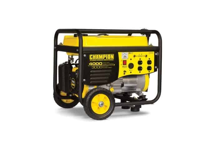 Peace of Mind with the Champion 3000W Gas Generator