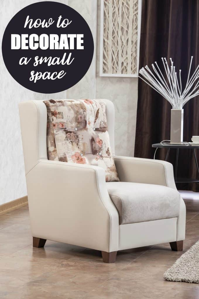 How to Decorate a Small Space - You don't need to go minimalist to get a pulled together look in a small space.