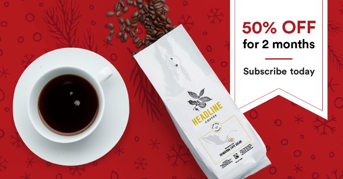 Headline Coffee Cyber Monday Deal