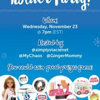 Join the #MGAHoliday Twitter Party on November 23rd!