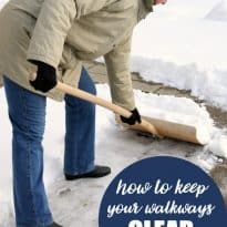 How to Keep Your Walkways Clear of Ice