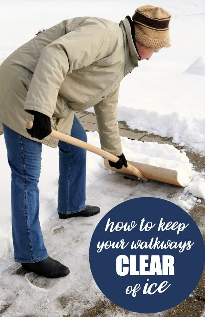 How to Keep Your Walkways Clear of Ice - Simple, but important tips to keep your family and visitors safe this winter.