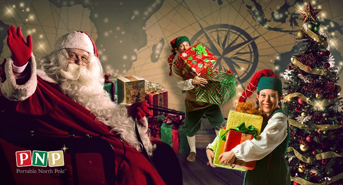 Experience the Magic of Christmas with Portable North Pole