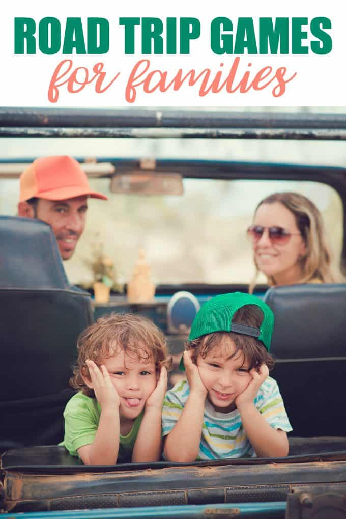 10 Road Trip Games for Families - Keep the kids entertained and have a little fun too!